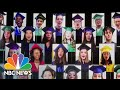 High School Seniors Sing National Anthem At Virtual 'Graduate Together' Event | NBC News NOW